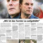 """Dieter Hecking: """"Mir ist das Turnier zu aufgebläht"""""""